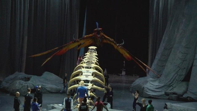 El Circo del Sol llega a Pamplona con