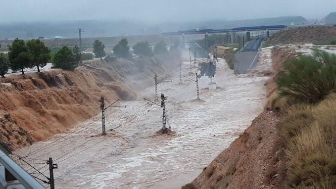 Activado el nivel dos por las inundaciones de la DANA