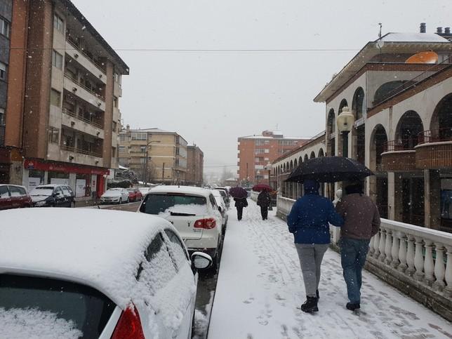 Activada la alerta por nieve y viento en toda la provincia