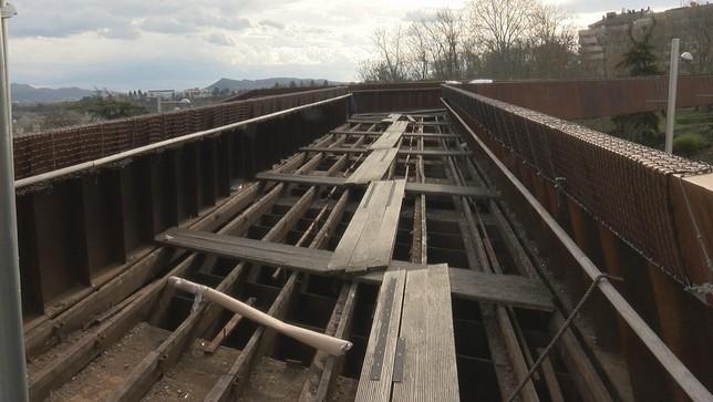 UPN denuncia que no hay expediente para derribar la pasarela