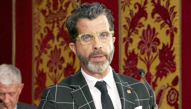 Alberto Romero, portavoz de VOX.