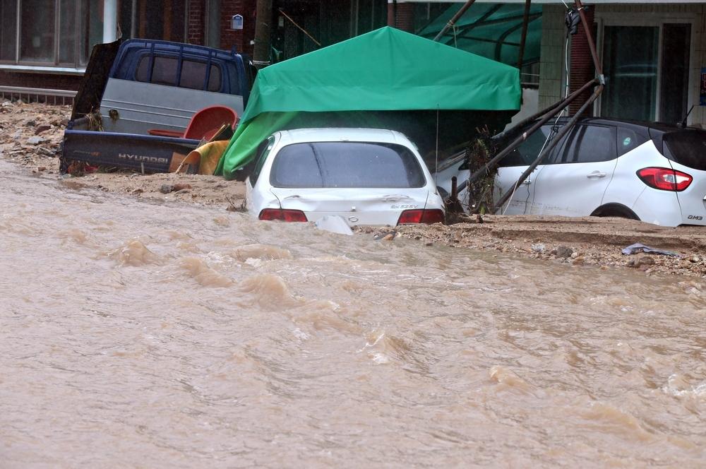 El tifón 'Mitag' deja a su paso seis muertos en Corea del Sur