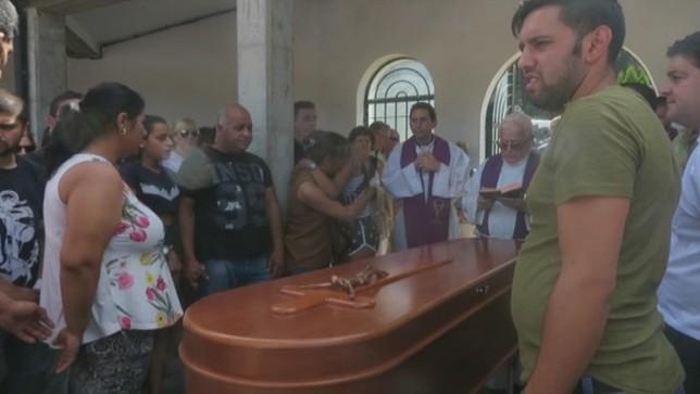 Último adiós en San Leonardo a Monika, asesinada en Salas