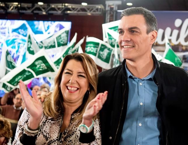 Sánchez llama a la movilización contra las tres derechas