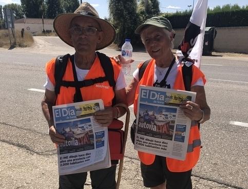 """Ya en Aranda: """"Esperamos ver la autovía terminada"""""""