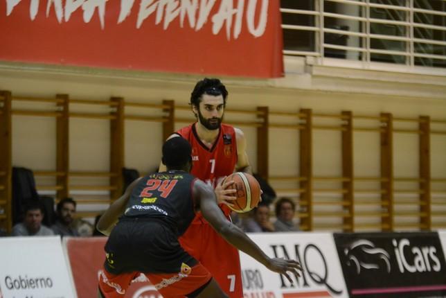 Jiménez, en un partido anterior.