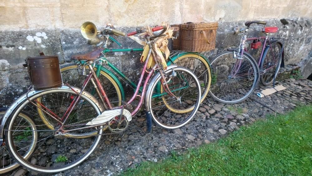 Encuentro de Bicicletas Clásicas en Aguilar
