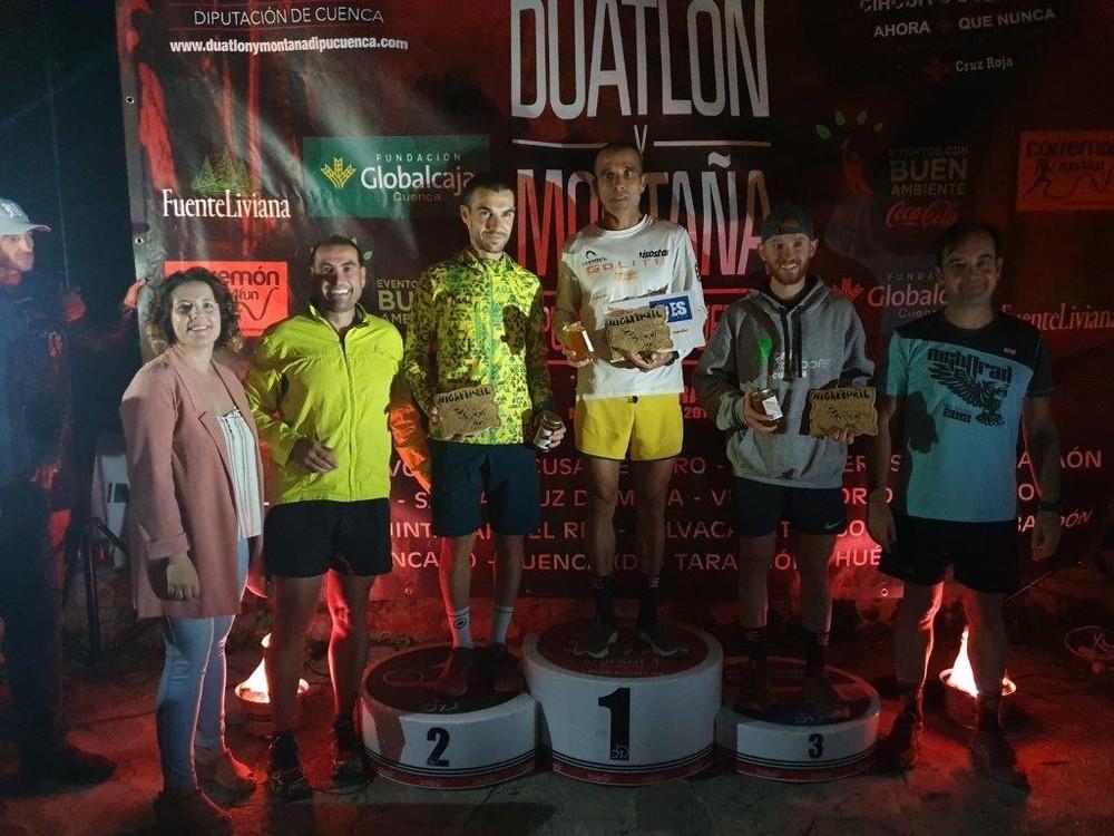 Algarra y Triguero ganan el Night Trail San Julián de Cuenca