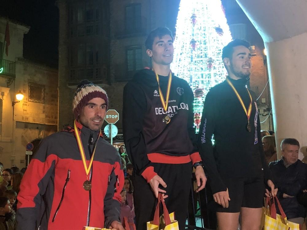 Edu Esteban y Marina Muñoz reinan en Cuéllar