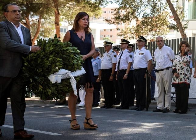 Homenajeados en Mallorca, olvidados en Burgos