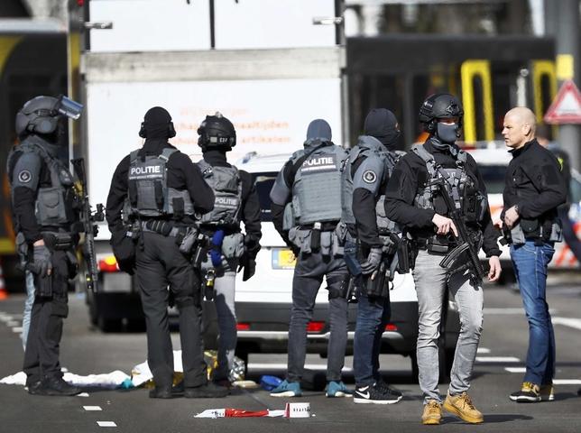 Varios heridos por disparos en Utrecht ROBIN VAN LONKHUIJSEN