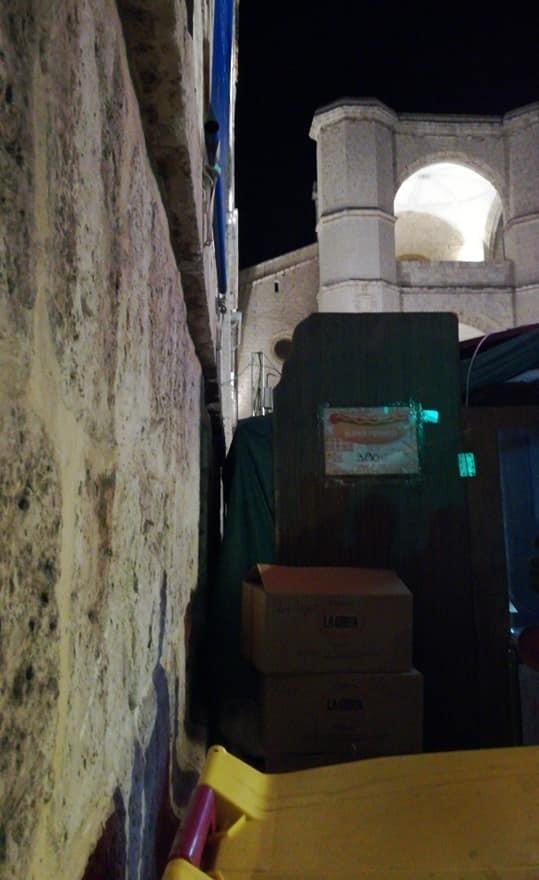 Vigilancia para que las casetas no dañen el patrimonio