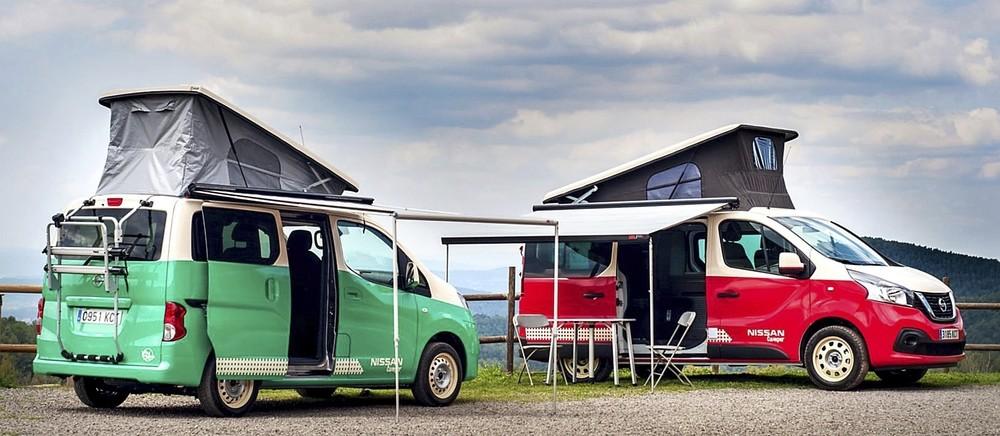 Las Nissan Campers: un nuevo estilo de vida | Noticias