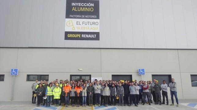 Concentraciones en Renault por el 8-M