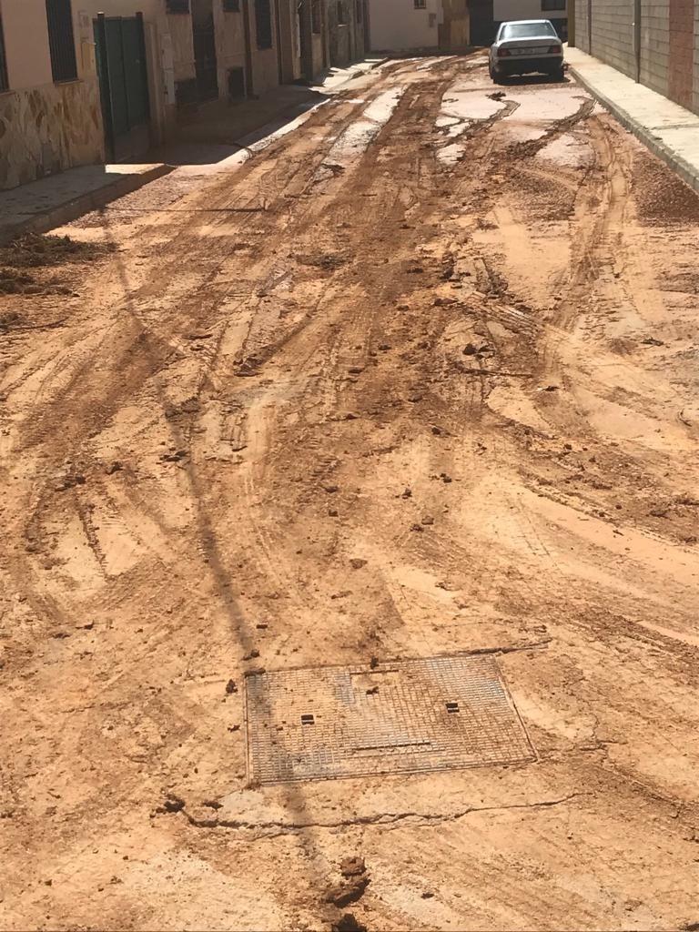 Villarejo de Fuentes pide ayudas por las inundaciones