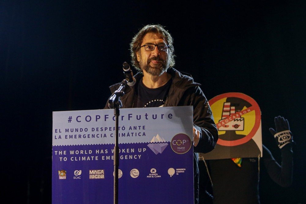 Madrid se vuelca con el clima bajo la batuta de Greta