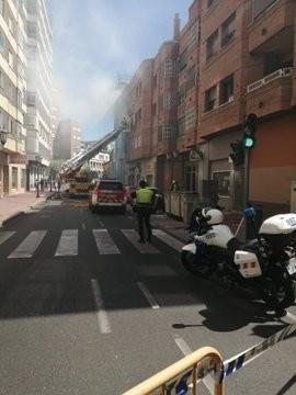 Un herido tras una explosión en un piso de San Quirce