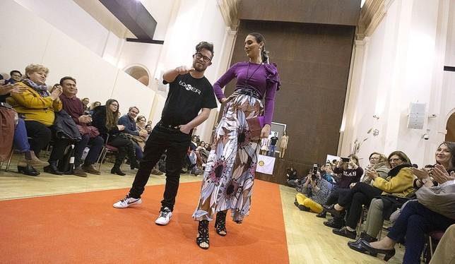 Moda solidaria en San Marcos Yolanda Redondo
