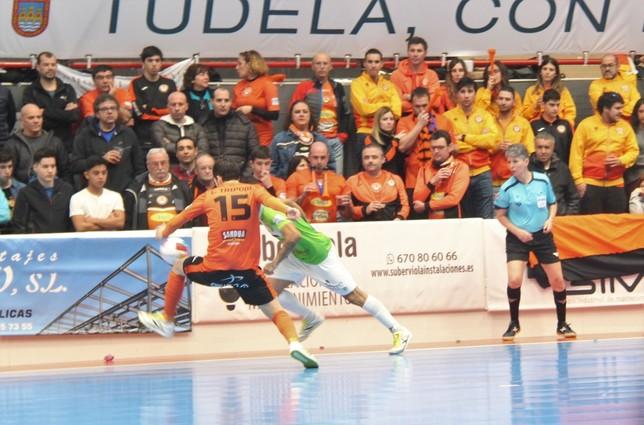 Ribera Navarra ha ganado dos partidos a domicilio en la presente campaña Ribera Navarra FS