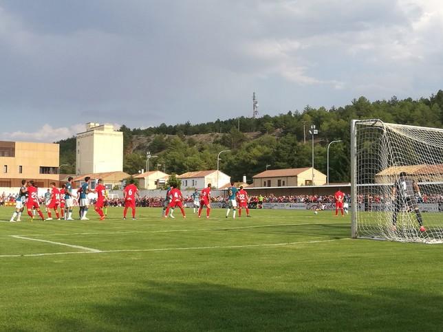 La segunda unidad del Atlético de Madrid doblega al Numancia