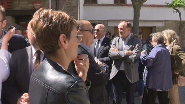 Navarra + pide a Chivite que asuma la devolución del IRPF