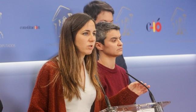 Belarra: UPN está aupando a los no quieren el Convenio