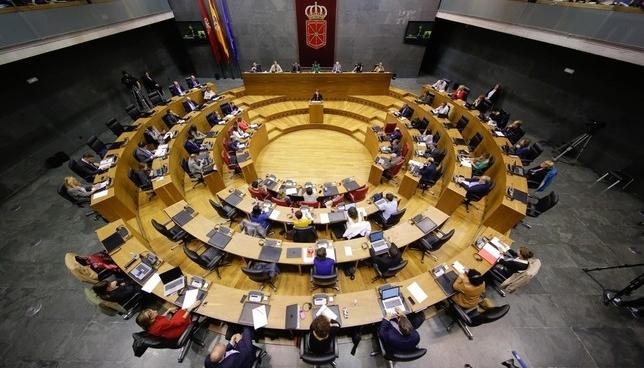 Pleno del Parlamento de Navarra Europa Press