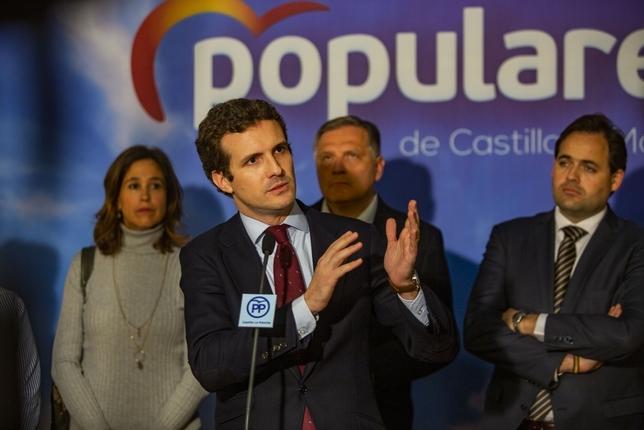 Casado reafirma el «compromiso» del PP con la caza Rueda Villaverde