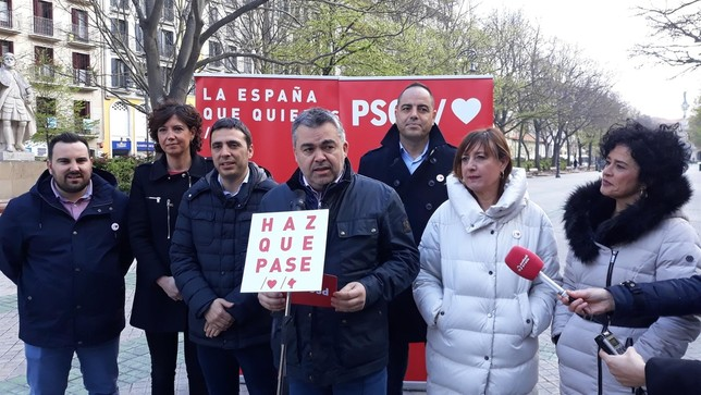 """Cerdán pide pide el voto para la """"España del sentido común"""""""