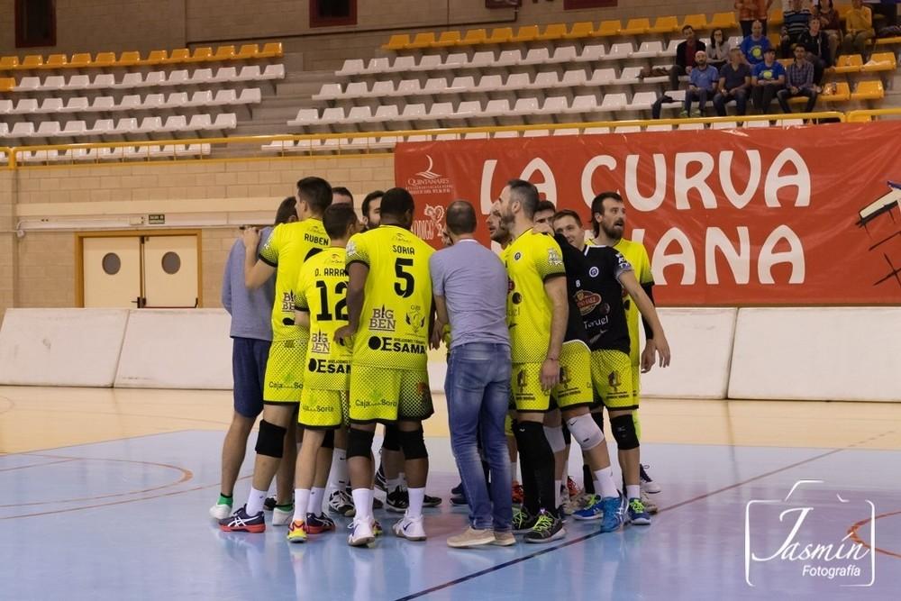 El Sporting CV Soria abre la liga en Madrid