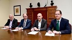 Harivenasa creará 50 empleos con una nueva planta en Arakil Firma del acuerdo de Harivenasa