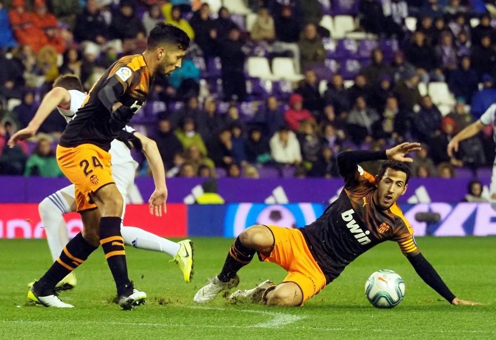 El Valencia consigue un punto en el añadido