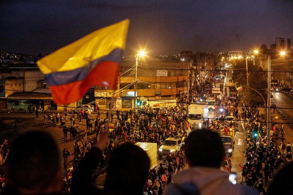 El Gobierno de Ecuador se marcha de Quito por los disturbios