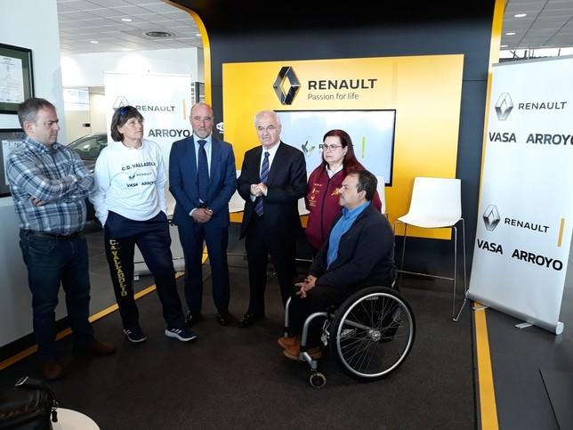Vasa Renault Arroyo mantiene su apuesta por el deporte