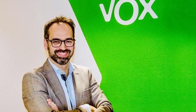 Jesús García-Conde del Castillo, cabeza de lista de Vox a las Cortes por Valladolid.