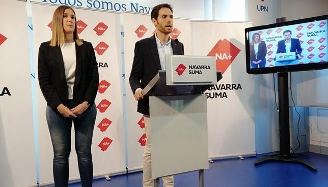 """Na+: """"EH-Bildu solo pretende la desaparición de Navarra"""" NATV"""