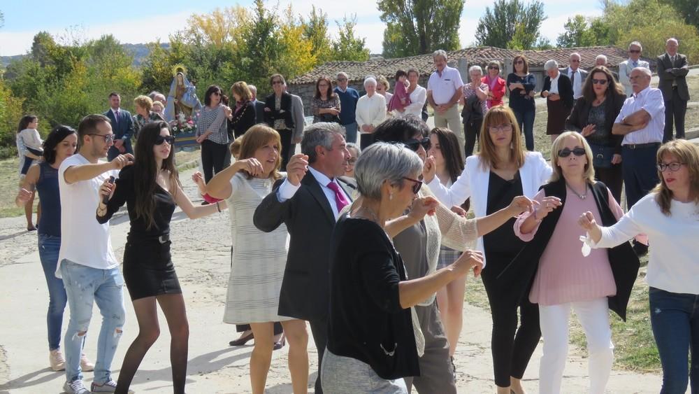 El baile de la jota ya es tradicional en todas las fiestas chamartinas