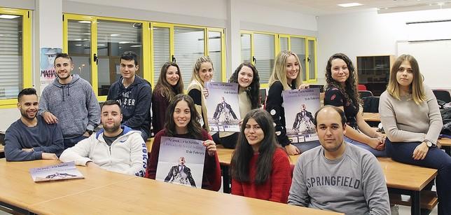 Alumnos del Ciclo de Grado Superior de Gestión de Ventas y Espacios Comerciales.