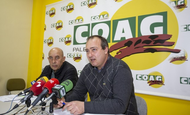 """COAG exige al Gobierno invertir en modernizar los regadíos Á""""scar Navarro"""