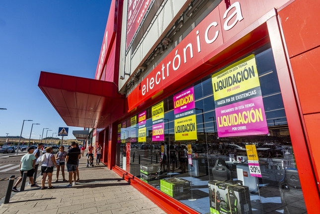La tienda Worten en el centro comercial Rio Shopping