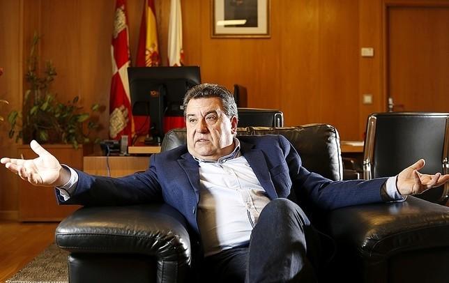 José Manuel Barrio, alcalde de Arroyo. D.V.