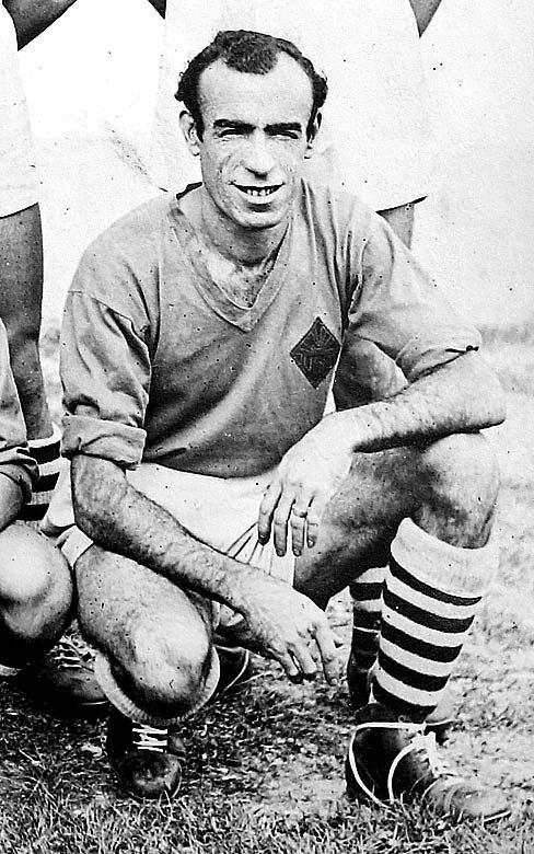 Tras su deportación, volvió a jugar al fútbol en Francia.