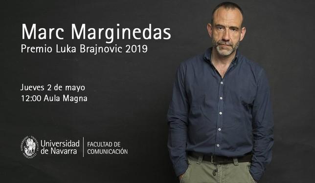 El periodista Marginedas recibe hoy el Premio Luka Brajnovic UN