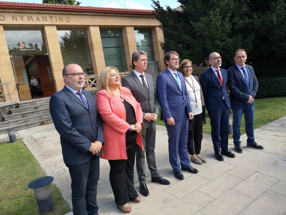 Compromiso del presidente con Numancia y su museo