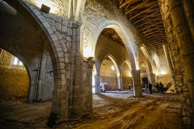 obras de la iglesia de Santiago de Ciudad real Fotos Rueda Villaverde