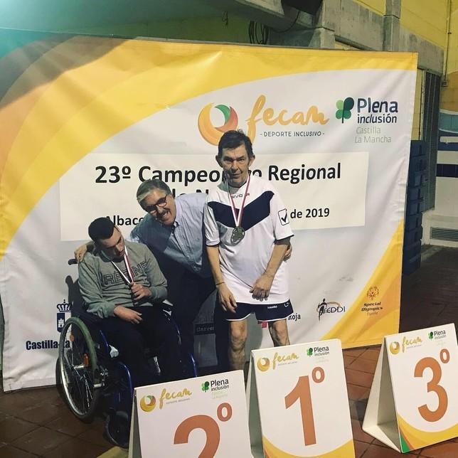 Diez medallas para el Apanas en el Regional de Albacete