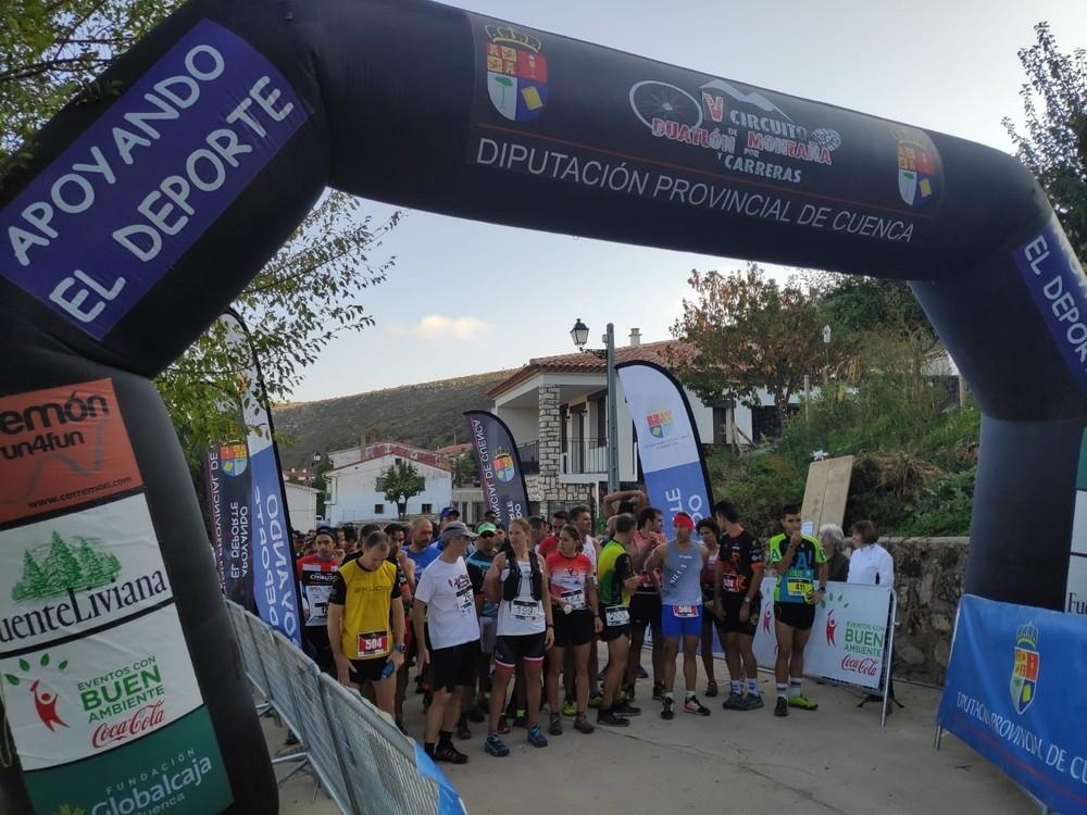Triguero y Algarra ganan el Trail Panorámico de Huélamo