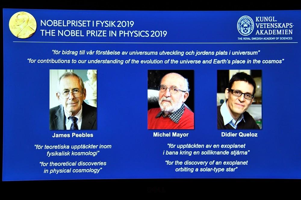 Nobel para el estudio de la evolución del universo