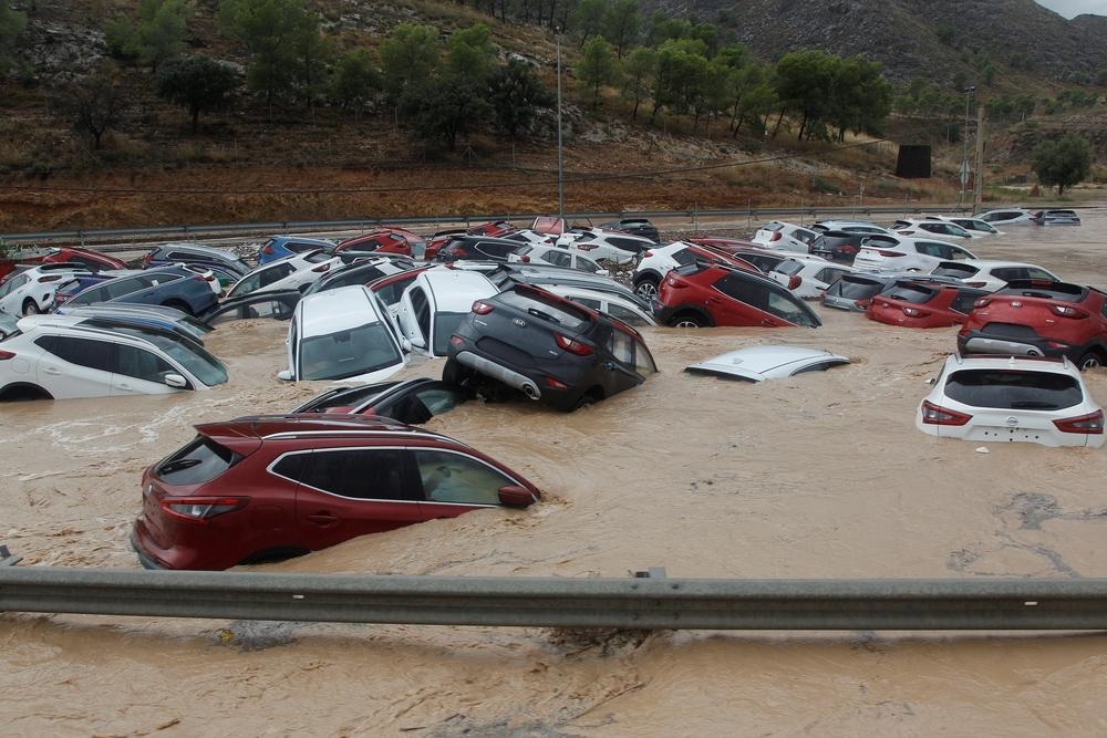 Murcia y la Comunidad Valenciana continuarán bajo la sacudida de la DANA