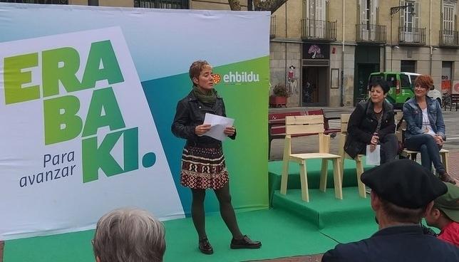 EH Bildu pide que Navarra asuma la gestión de las pensiones Eh Bildu